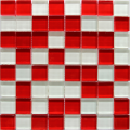 MOSAIC GLANCE RED WHITE