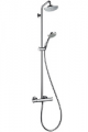 27169000 HG Croma 100 Showerpipe Душ.наб.